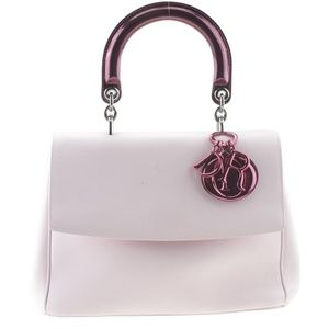 Christian Dior Be Dior Pink Leather Satchel 165603